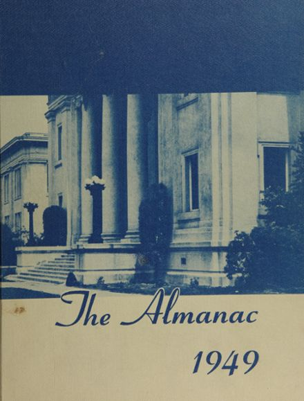 1949 Franklin High School Yearbook Cover