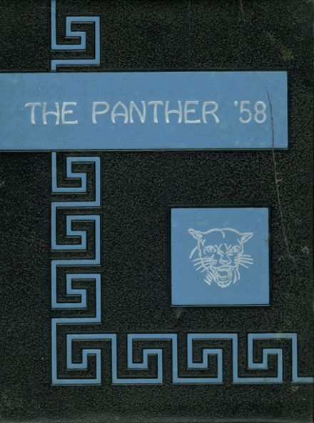 1958 Wilmot High School Yearbook Cover