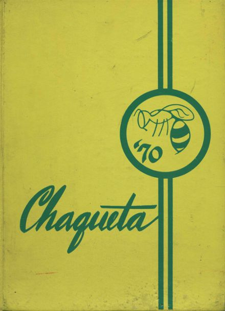 1970 Franklin High School Yearbook Cover