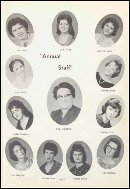 1961 Beebe High School Yearbook Page 7