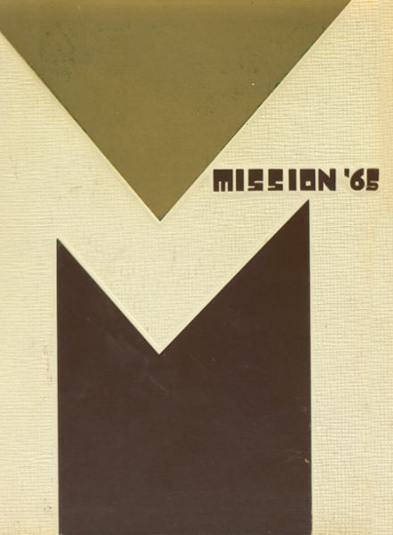 1965 Mission High School Yearbook Cover
