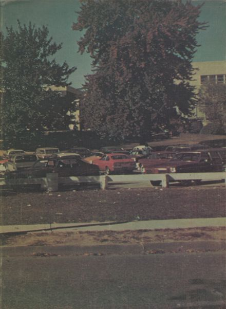 1974 Harrison High School Yearbook Cover