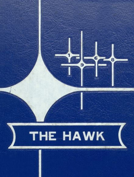 1968 Woodward Community High School Yearbook Cover