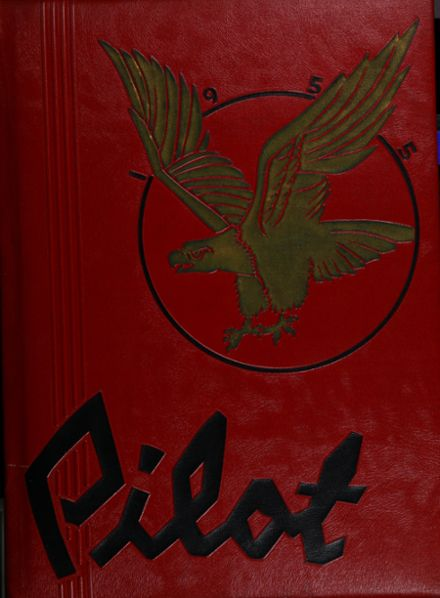 1955 Redondo Union High School Yearbook Cover