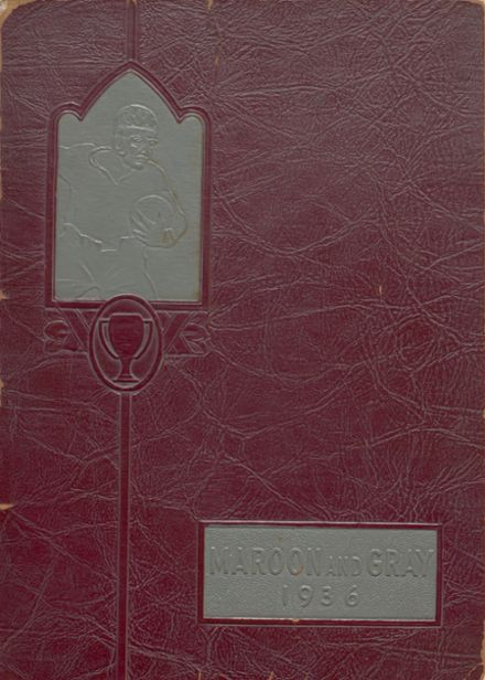1936 Hagerstown High School Yearbook Cover