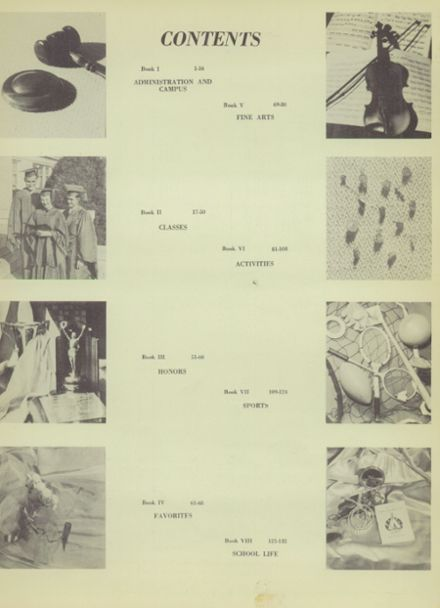 1949 Ponca City High School Yearbook Page 7