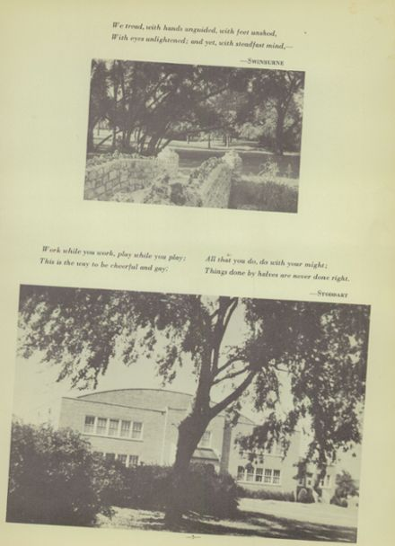 1949 Ponca City High School Yearbook Page 9