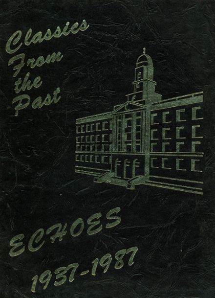 1987 Franklin K. Lane High School Yearbook Cover