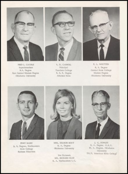 1968 Mounds High School Yearbook Page 8