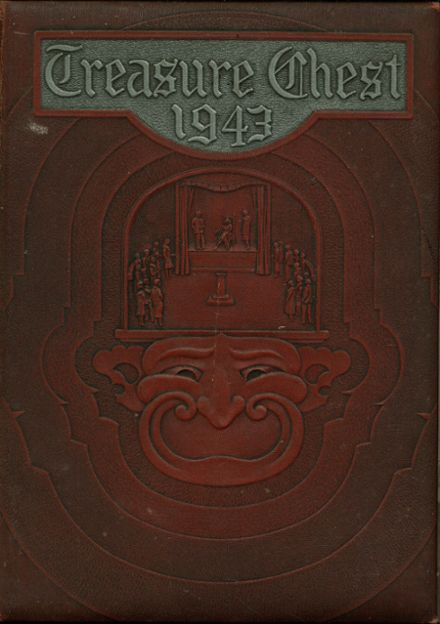1943 Mepham High School Yearbook Cover