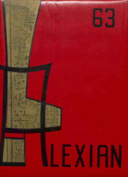 1963 Jefferson High School Yearbook Cover
