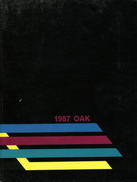 1987 Mt. Whitney High School Yearbook Cover
