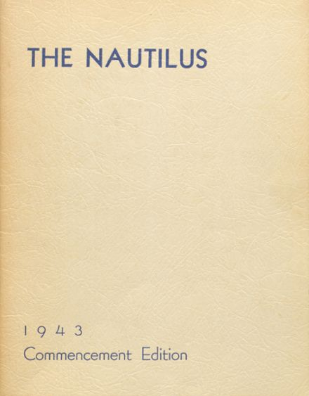 1943 College High School Yearbook Cover