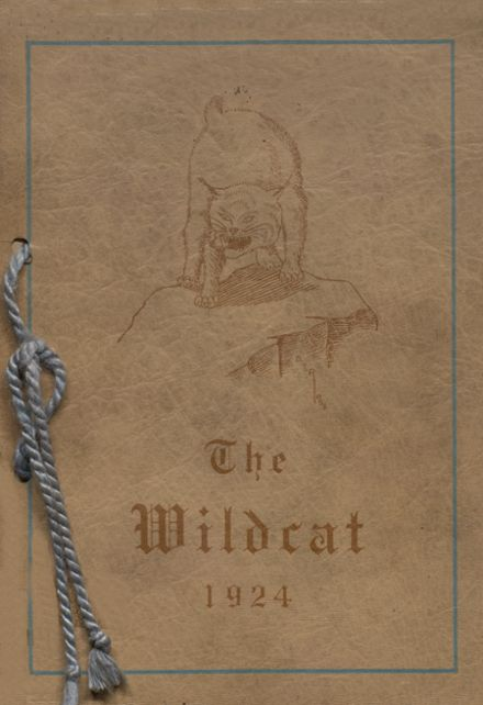 1924 Central High School Yearbook Cover