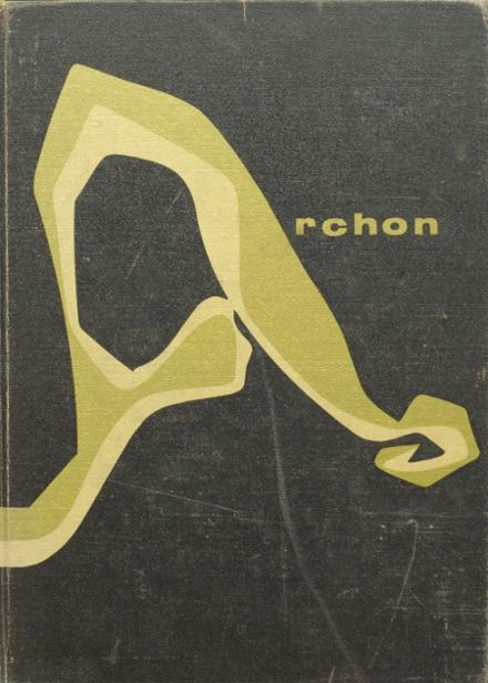 1960 Stagg High School Yearbook Cover