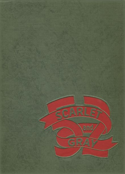 1952 West Lafayette High School Yearbook Cover