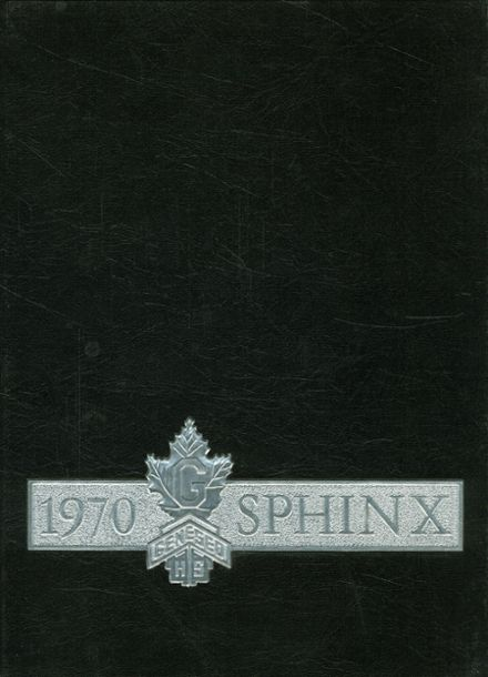 1970 Darnall High School Yearbook Cover