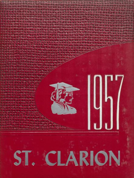 1957 St. Clair County High School Yearbook Cover