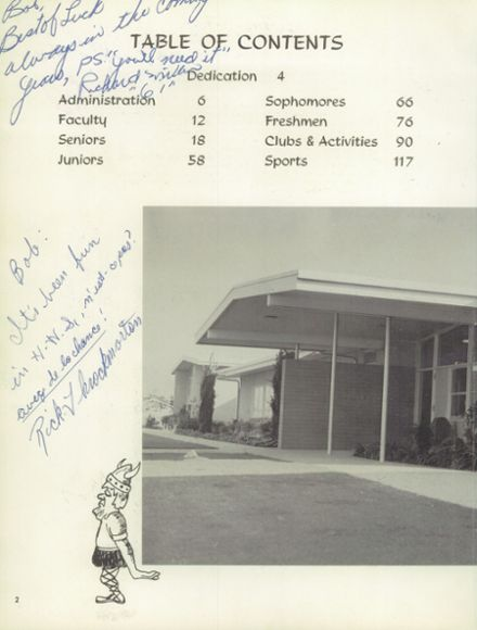 1961 Hueneme High School Yearbook Page 6