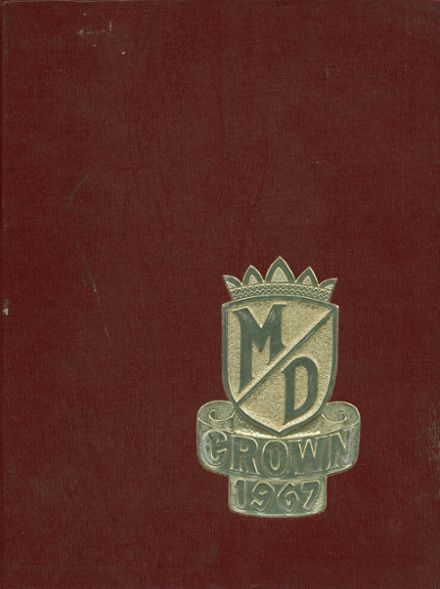 1967 Mater Dei High School Yearbook Cover