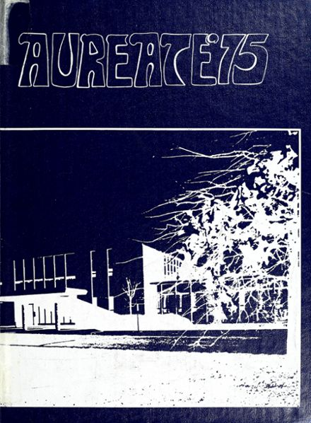 1975 Bishop Dwenger High School Yearbook Cover