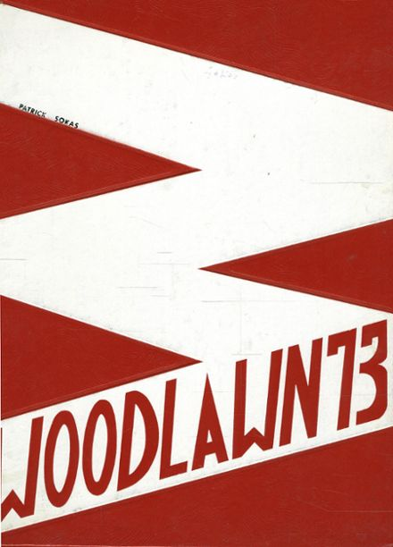 1973 Woodlawn High School Yearbook Cover