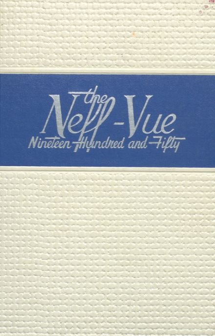 1950 Manheim Township High School Yearbook Cover