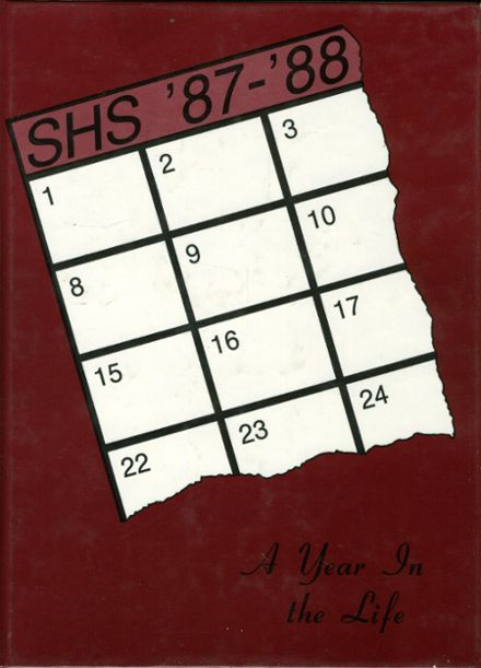 1988 Sidney High School Yearbook Cover