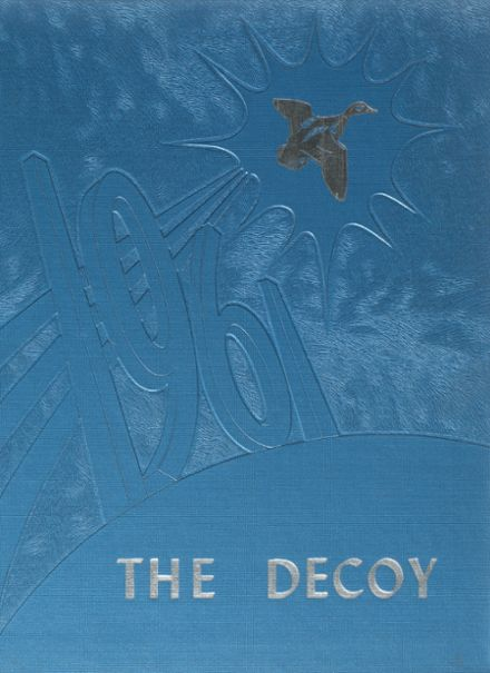 1961 Woodworth High School Yearbook Cover
