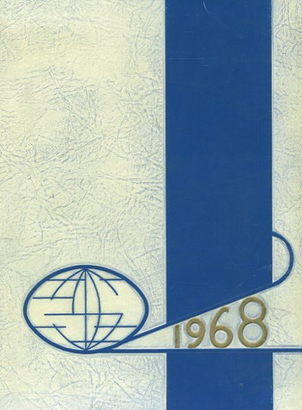 1968 Boulder City High School Yearbook Cover