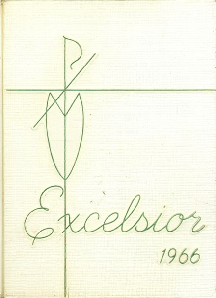 1966 St. Joseph High School Yearbook Cover