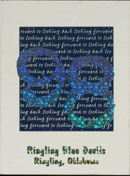 1998 Ringling High School Yearbook Cover