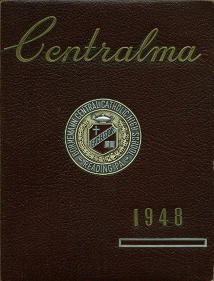 1948 Central Catholic High School Yearbook Cover