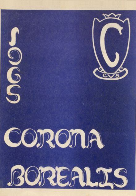 1965 Copper Valley High School Yearbook Cover