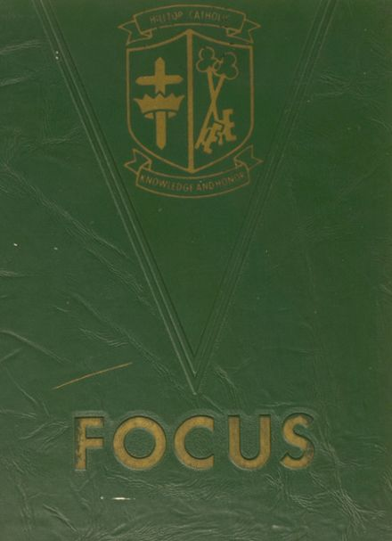 1972 Hilltop Catholic High School Yearbook Cover