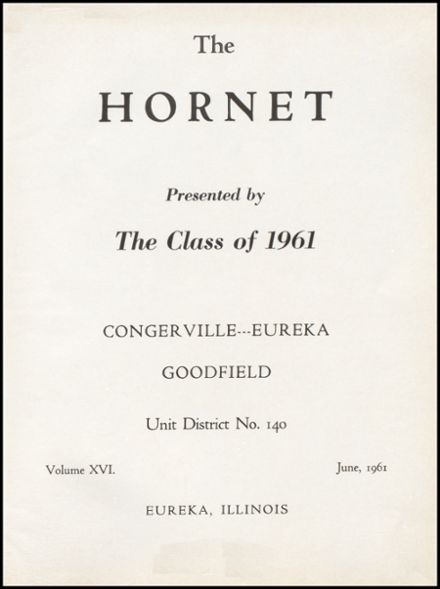 1961 Eureka High School Yearbook Page 5