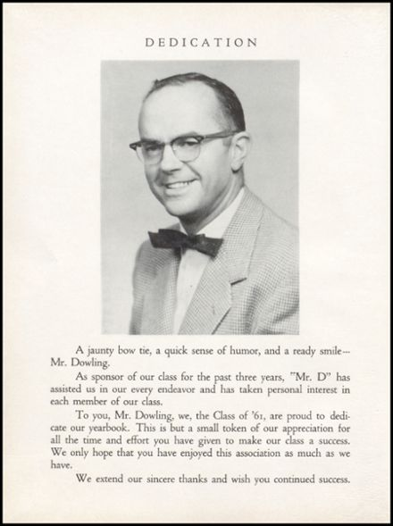 1961 Eureka High School Yearbook Page 8