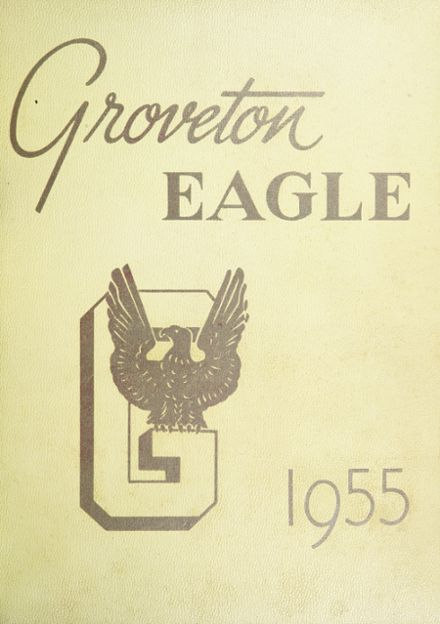 1955 Groveton High School Yearbook Cover