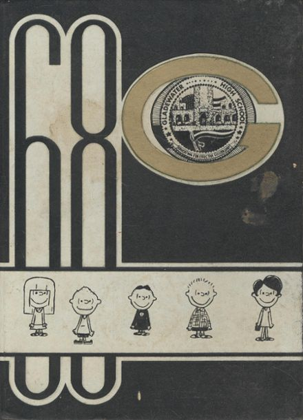 1968 Gladewater High School Yearbook Cover