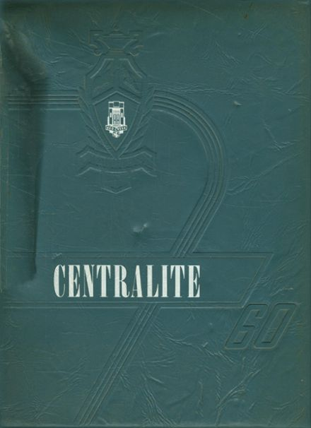 1960 Red Creek Central High School Yearbook Cover