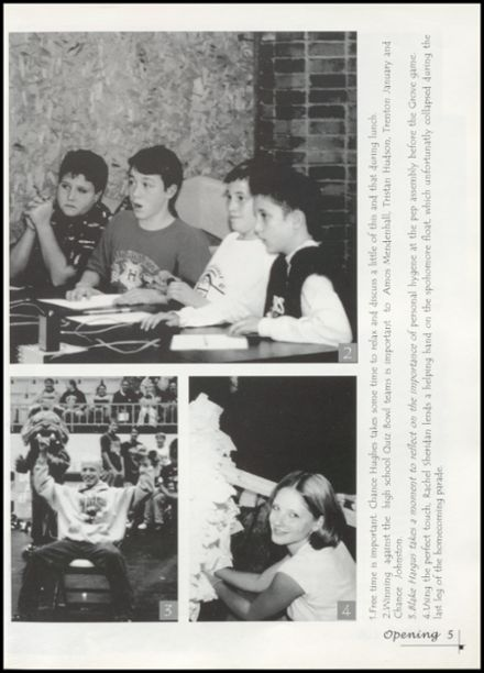 2002 Jay High School Yearbook Page 9