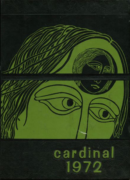 1972 Glendale High School Yearbook Cover