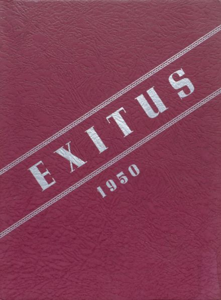 1950 Windsor High School Yearbook Cover