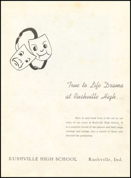1946 Rushville Consolidated High School Yearbook Page 7
