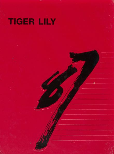1987 Port Allegany High School Yearbook Cover
