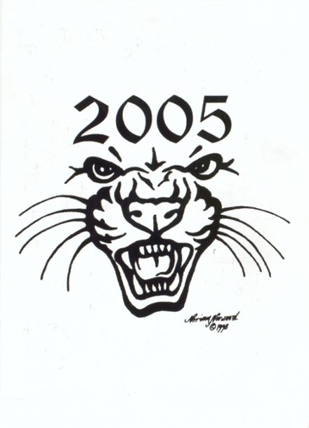 2005 Jal High School Yearbook Cover