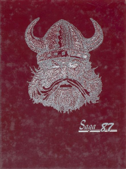 1987 Valley High School Yearbook Cover