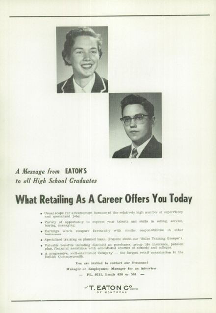 1956 West Hill High School Yearbook Page 4