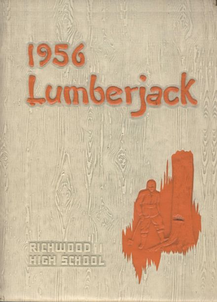 1956 Richwood High School Yearbook Cover
