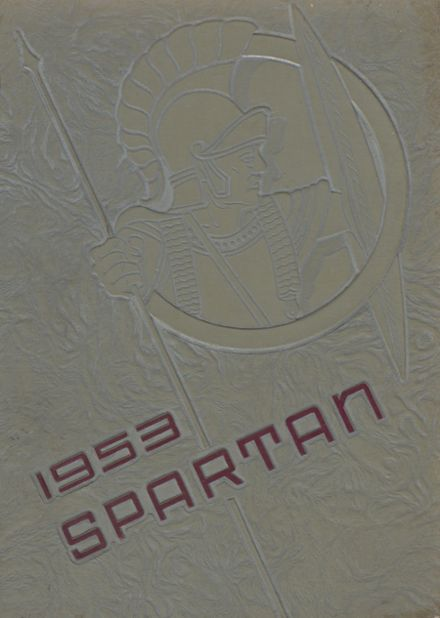 1953 White County High School Yearbook Cover